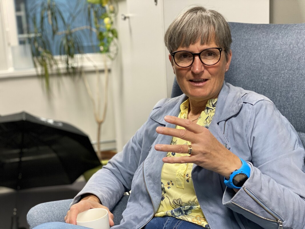 Forbundsleder Gerty Lund mener regjeringen ikke burde brukt tvungen lønnsnemd i kommunestreiken.