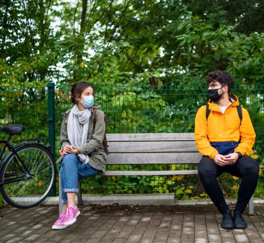 Fysioterapeutstudenters bekymring for smitte under Covid-19 pandemien og opplevd utbytte av klinisk praksis. En tverrsnittstudie