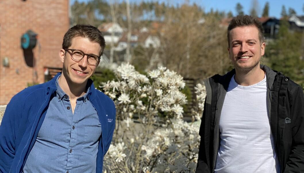 Martin Moum Hellevik og Joakim Moestue Halvorsen