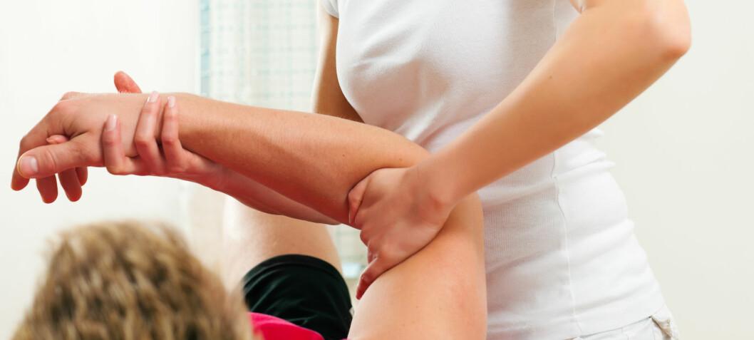 Fysioterapi etter albuefraktur