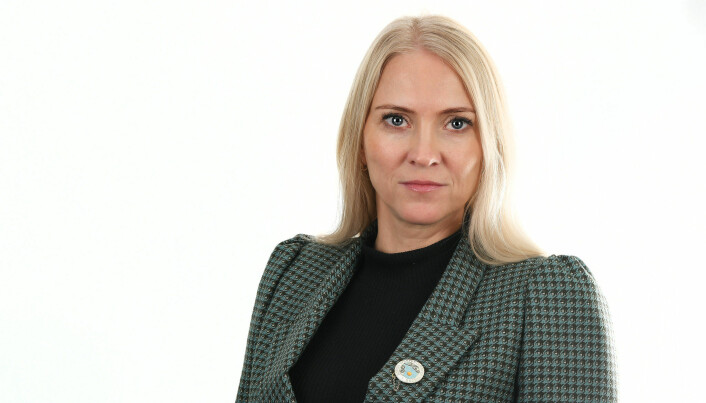 Forbundsleder Lill Sverresdatter Larsen i Norsk Sykepleierforbund.