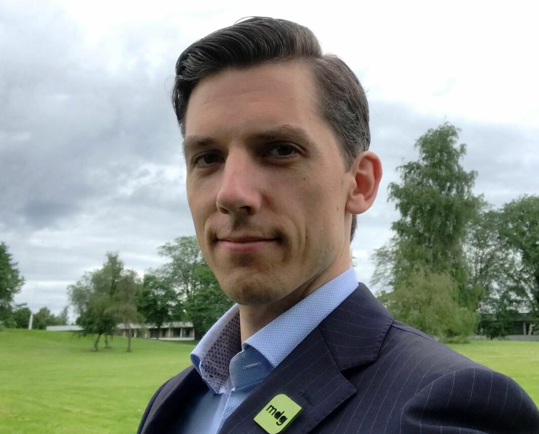 Kristoffer Robin Haug er helsepolitisk talsperson i Mijøpartiet De Grønne.