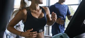 En fysisk aktiv livsstil gir større hjerte - ingen grunn til bekymring