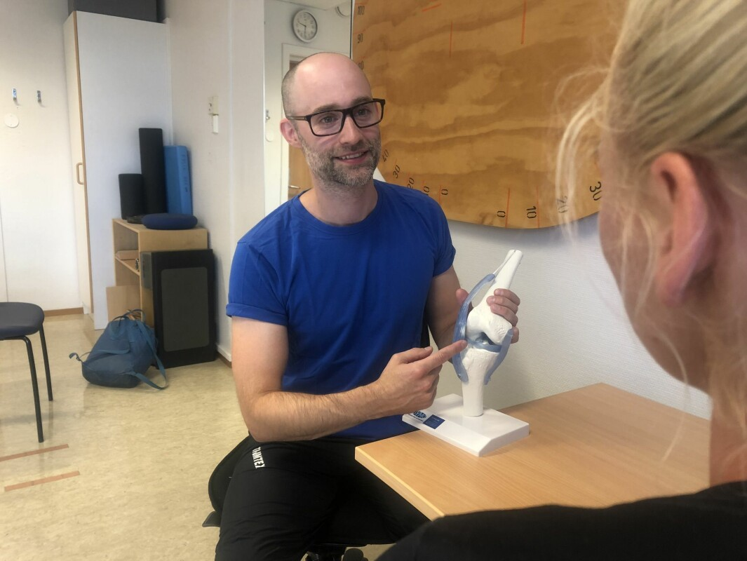 - Fysioterapi er viktig, selv om mange klarer seg med oppfølging, sier Anders Östling.