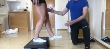 Råd, veiledning og egentrening like bra som trening med fysioterapeut