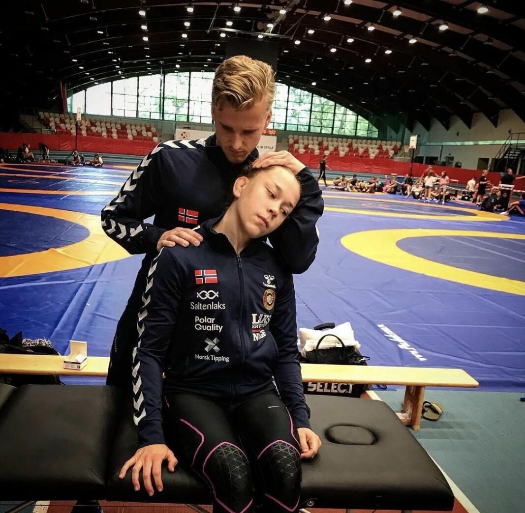 Fysioterapeut for det norske brytelandslaget: – Neppe en jobb for deg med kjæreste