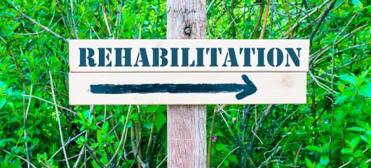 Rehabiliteringsbehovet har vært stort lenge