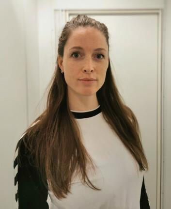 NUF-leder Kristin Bakkeli.