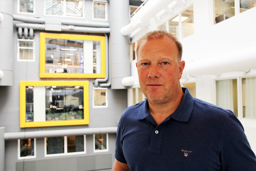 Leder for faggruppen for Idrettsfysioterapi og aktivitetsmedisin, Kenneth Martinsen.